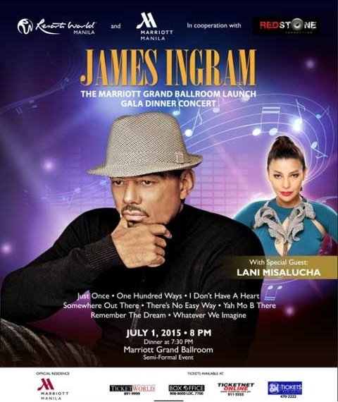 JAMES INGRAM POSTER