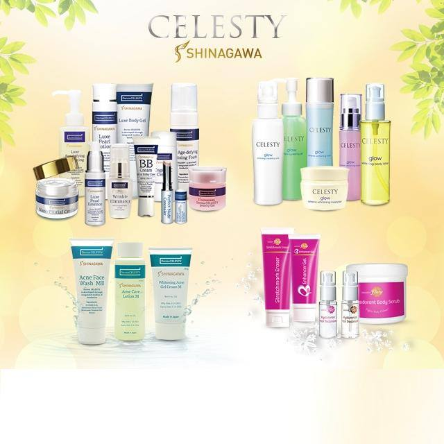 celesty products by shinagawa