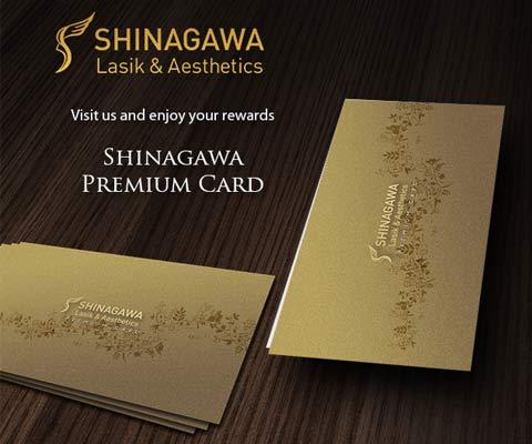 shinagawa lasik & aesthetics premium card