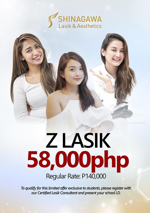 Z LASIK Promo For Students