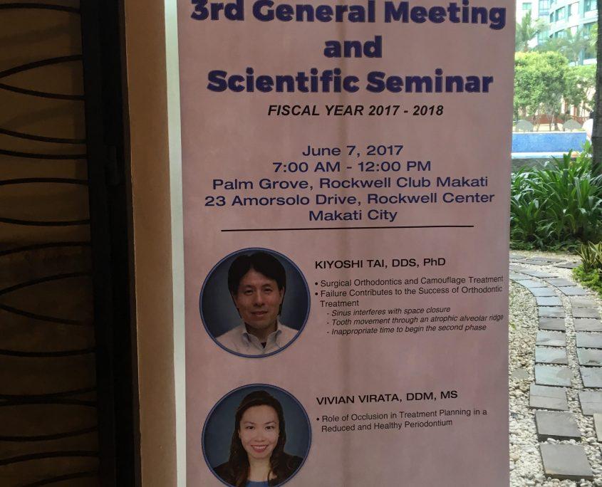 3rd General Meeting and Scientific Seminar