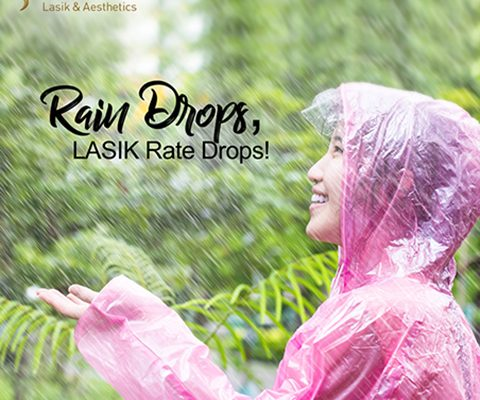 Rain Drops, LASIK Rate Drops