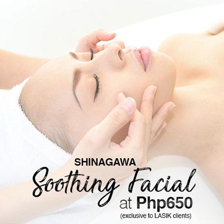 Soothing Facial at Shinagawa PH