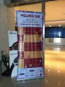 Shinagawa Ads in Samsung Wellness Fair 2017 event