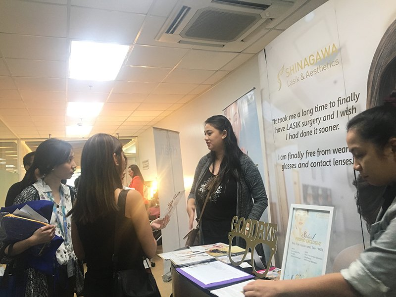 Shinagawa PH at Presence Felt in Samsung Wellness Fair 2017