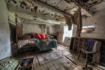 Dirty Room in the Philippines