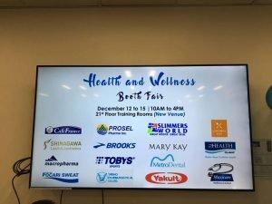 Safeway Philtech Inc. Heath and Wellness Event