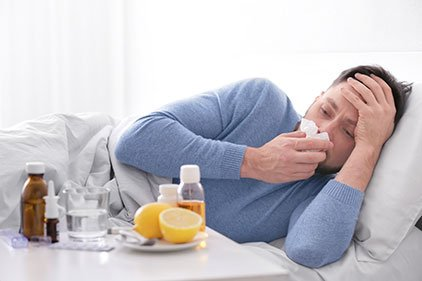 Having colds or flu Philippines