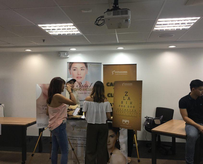 Shinagawa Flaunts Services for L'Oreal Philippines