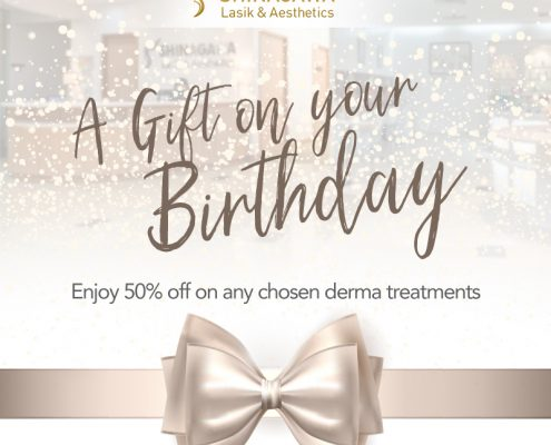 50% Off for April Celebrants