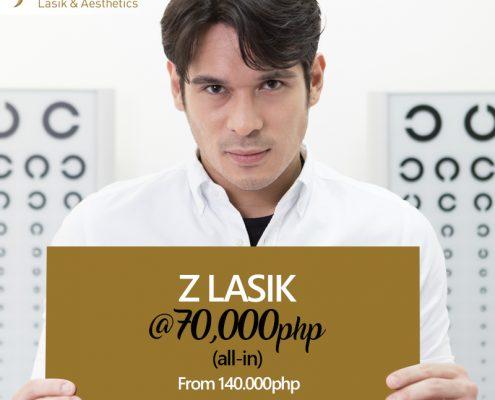 Pancho Magno for Z LASIK @ 70K