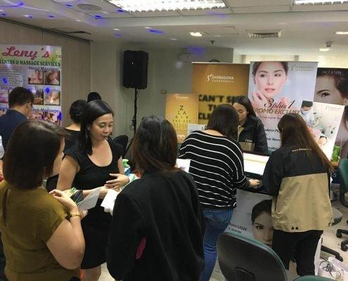 Shinagawa Pleads Health First in Manulife Wellness Fair
