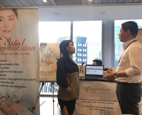 Shinagawa Heads to IBBS for 3rd Showcase in Wellness Fair
