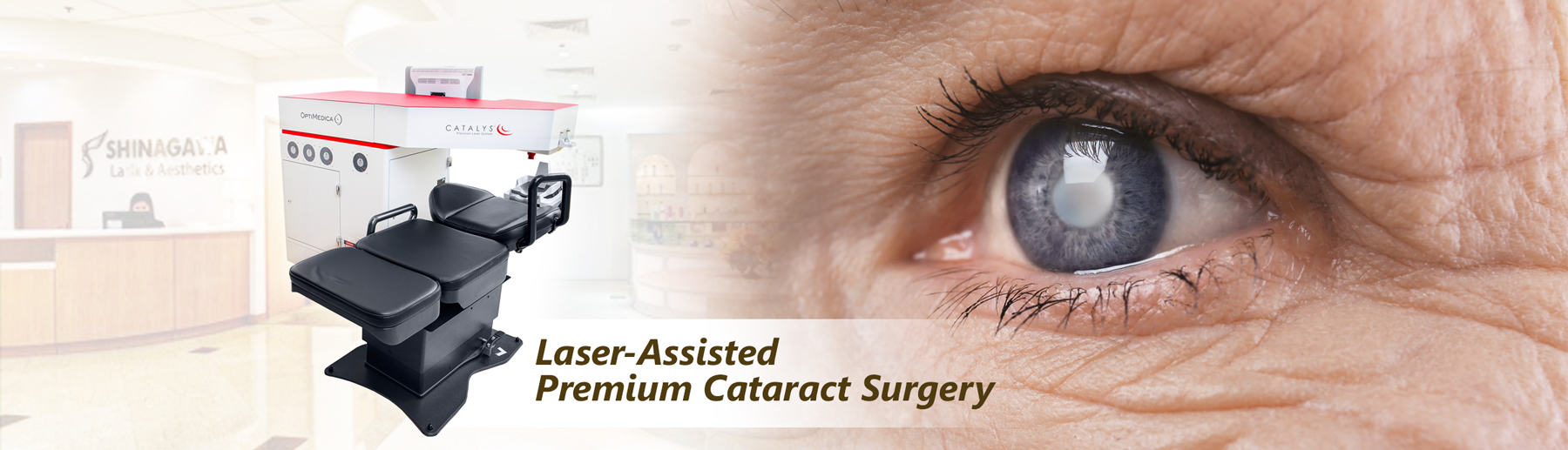Lase-Assisted Premium Cataract Surgery
