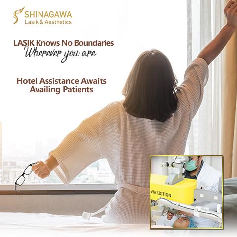 Partner Hotels of Shinagawa Lasik & Aesthetics