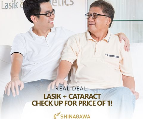Perfect Knows No Age: Lasik + Cataract for the Price of 1!