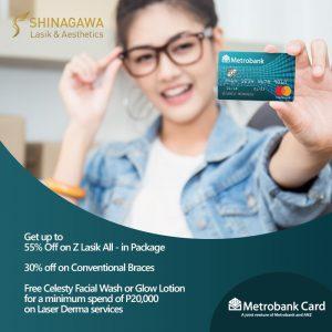 M HERE - Discounts & Freebies from Shinagawa for Metrobank Cardholders!