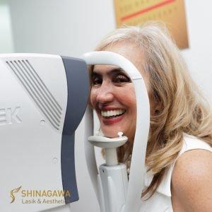 Cynthia Lagdameo's Eye Check-Up