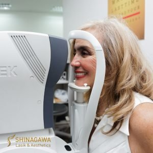 Cynthia Lagdameo's Pre-Eye Screening before Cataract Surgery at Shinagawa PH