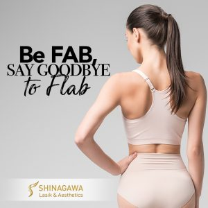 Be FAB, say goodbye to FLAB! Arm LipoSculpture at 65K ONLY!