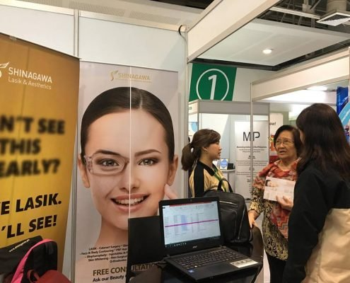 Shinagawa Lasik & Aesthetics Booth at PBEX 2018