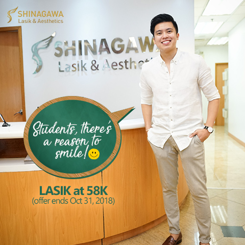 Kimpoy Feliciano for Student Promo at Shinagawa Lasik Center