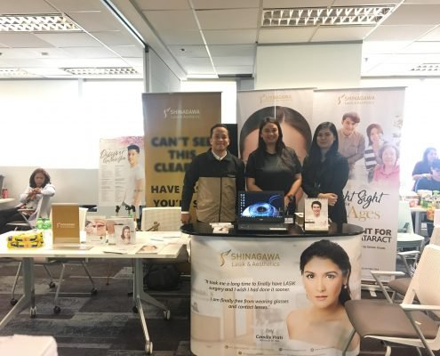 Shinagawa Lasik & Aesthetics Consultants at an Event