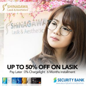 Web Offer: SECURITY BANK SPECIAL: CHARGE NOW, PAY LATER