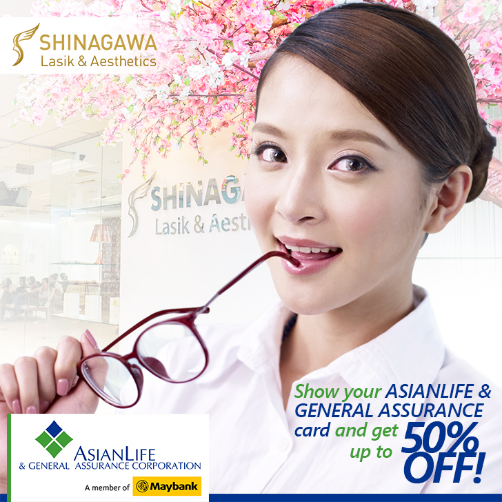 Services for LESS for Asian Life & General Assurance Members | Shinagawa Lasik & Aesthetics