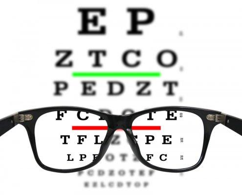 Eye Vision Board | Shinagawa LASIK Blog