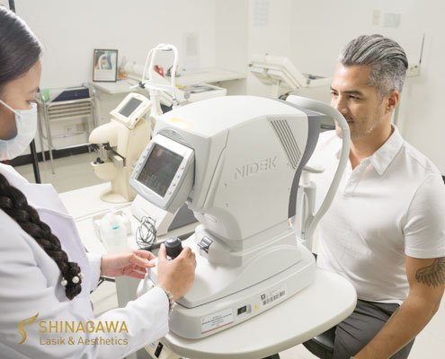 Troy Montero on his Comprehensive Eye Check with Shinagawa