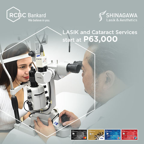 Exclusive Discounts Using Your RCBC Bankard | Shinagawa Promos & Offers