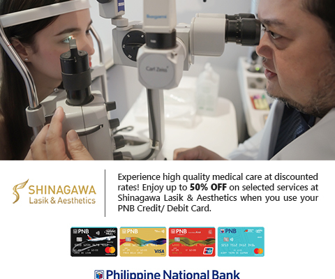 PNB Cardholders Enjoy Big Discounts @ Shinagawa