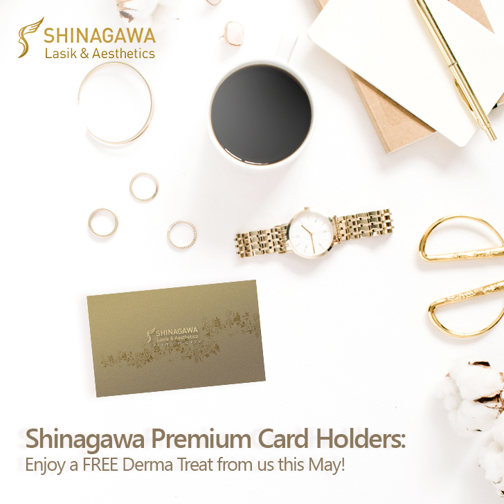 FREE Viora or SynchroDerm Plus for Premium Card Holders | Shinagawa Promos & Offers