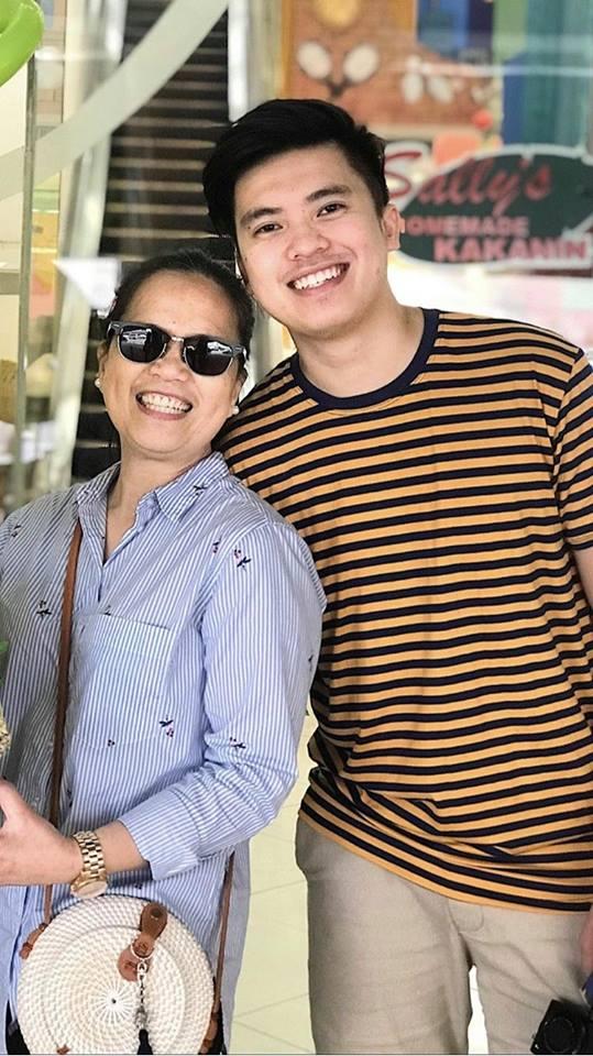 Kimpoy Feliciano with His Mom | Shinagawa LASIK Blog