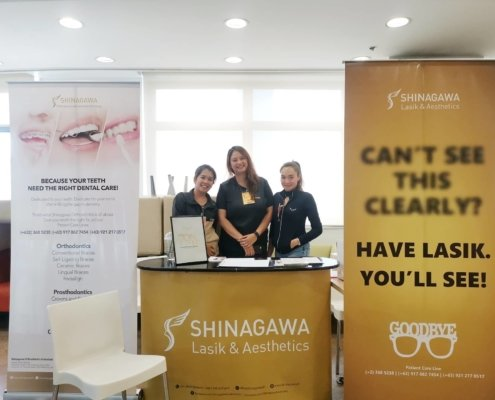 Shinagawa Lasik & Aesthetics Booth at Deutsche Bank Bazaar 2019 | Shinagawa News & Events