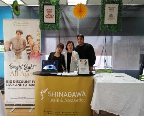 Shinagawa Lasik & Aesthetics Booth at Intercontinental Hotel Caravan | Shinagawa Derma Doctor at Intercontinental Hotel Mother's Day Caravan 2019 | Shinagawa News & Events