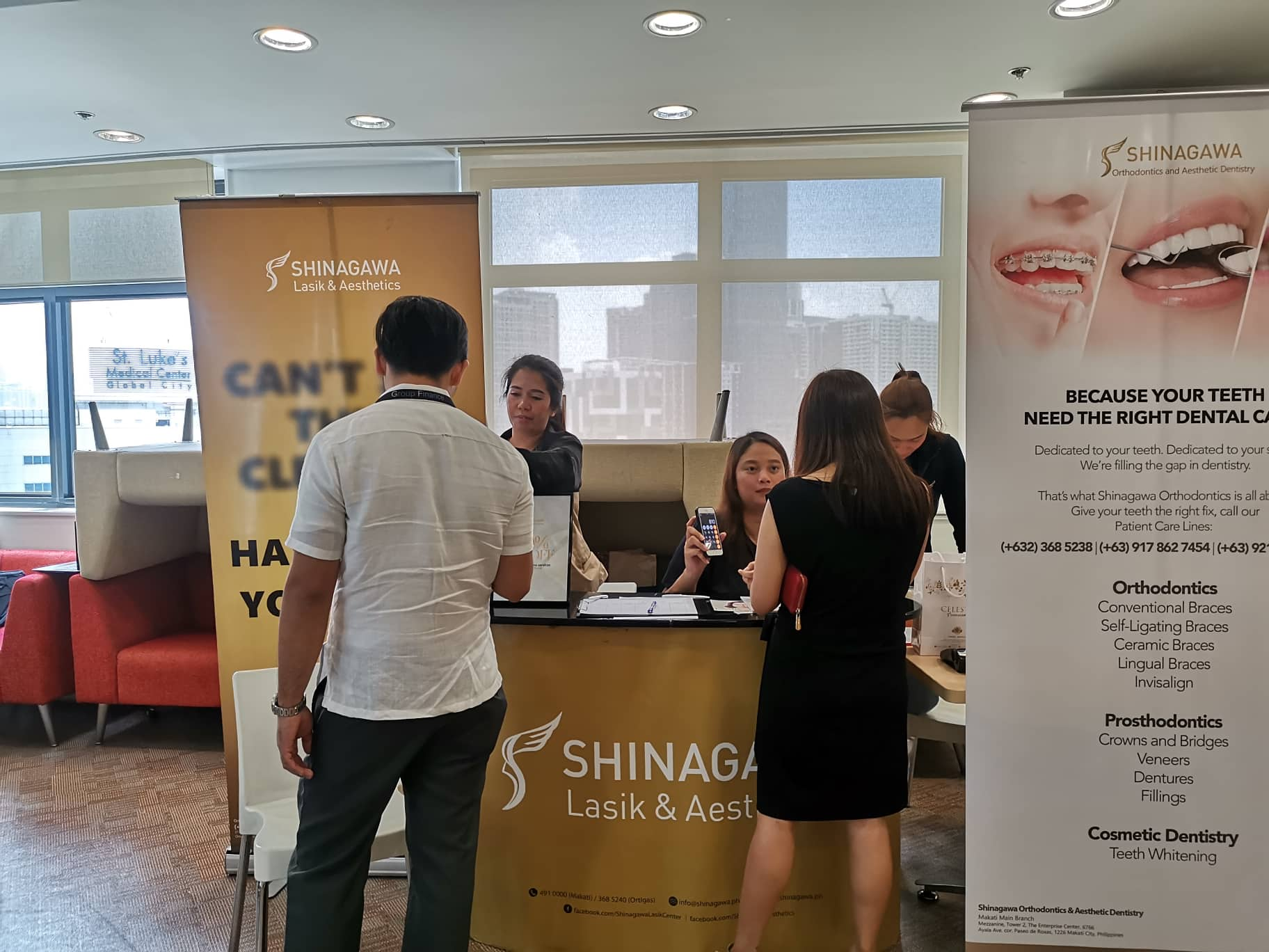 Shinagawa Lasik Center at Deutsche Bank 2019 | Shinagawa Feature Story
