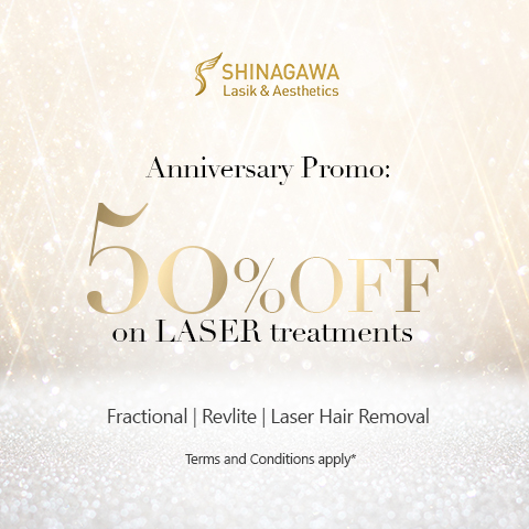 50% Off on Laser Treatments | Shinagawa Promos & Offers