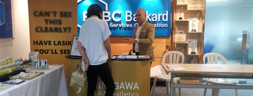 Shinagawa Presents Services In RCBC's Wellness Fair   Shinagawa News & Events