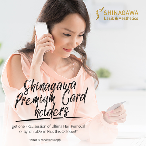 FREE Ultima Hair Removal or SynchroDerm Plus at Shinagawa | Promos & Offers