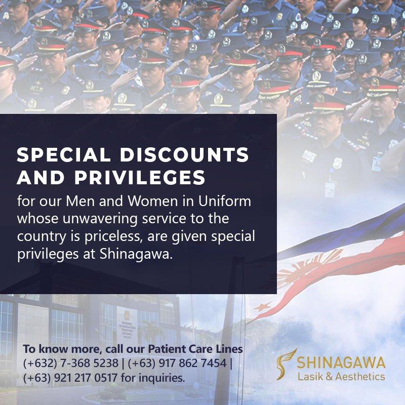 Heroes From PNP and AFP Enjoy Privileges at Shinagawa!