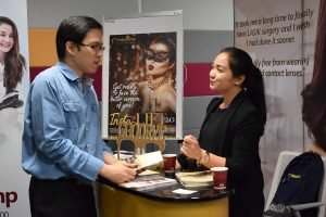 Shinagawa at work in Macquarie Wellness Fair