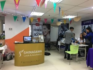 Shinagawa in Security Bank's Wellness and Fitness Fair
