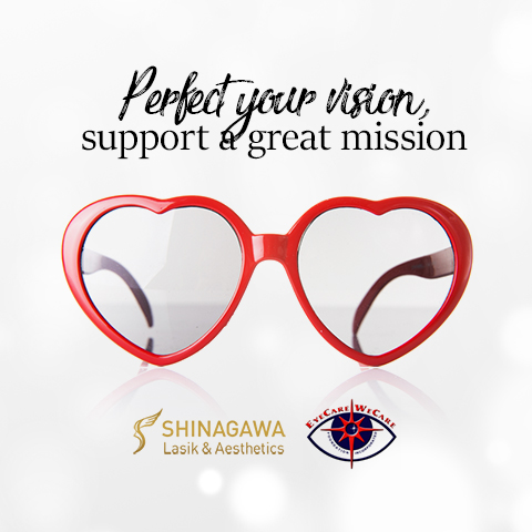 Perfect your vision, support a great mission