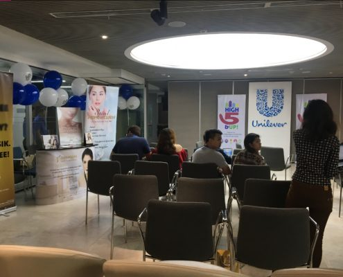 Shinagawa Takes Part in Unilever's High 5 & Up Event 2