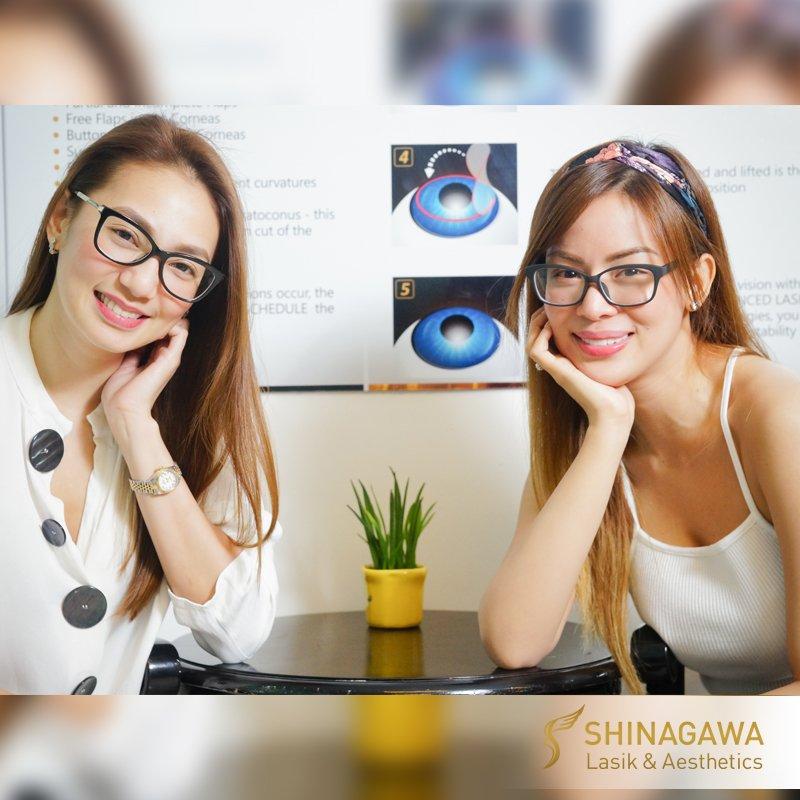 Aiko Climaco & Maica Palo for LASIK