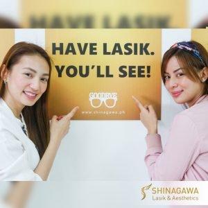 Aiko Climaco & Maica Palo for Shinagawa Lasik & Aesthetics