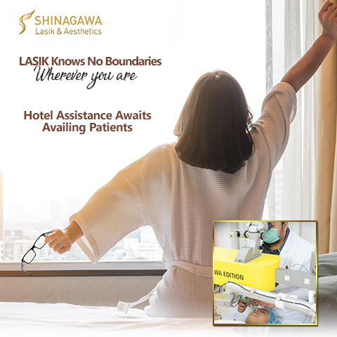 Partner Hotels of Shinagawa Lasik & Aesthetics
