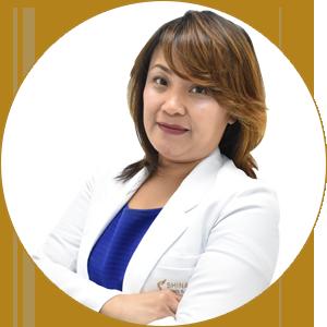 Ana Victoria Claire Dalumpines, M.D.   Shinagawa Medical Team